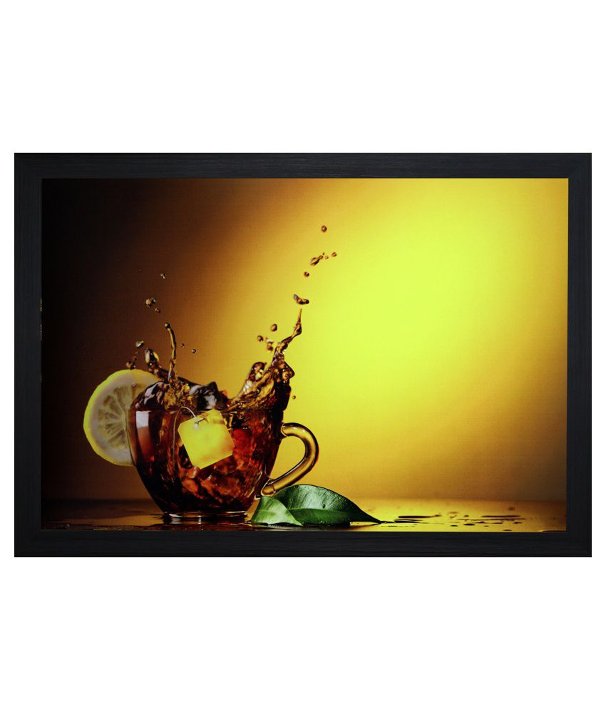 SAF Still Life Painting with Wooden Frame