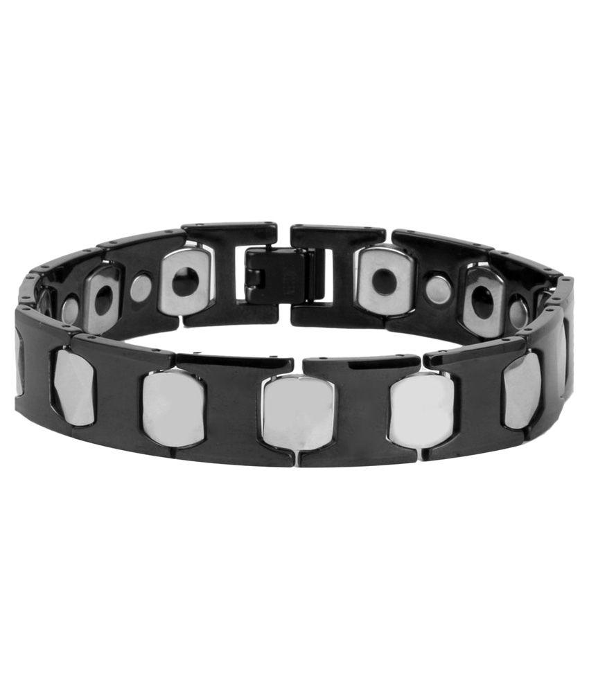 The Jewelbox Black Designer Bracelet