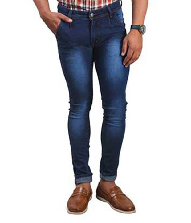 Big Flow Blue Slim Fit Jeans