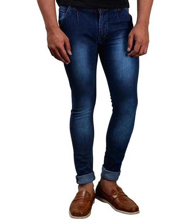 Big Flow Blue Slim Fit Jeans Pack Of 2