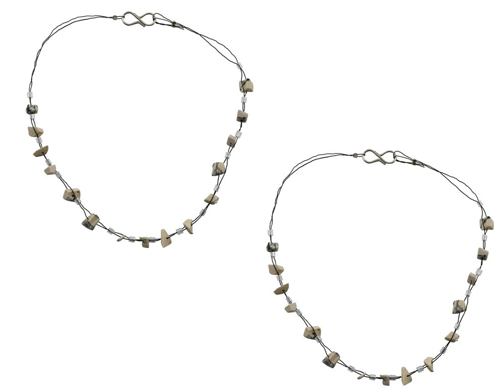 High Trendz Silver Brass Pair of Anklets
