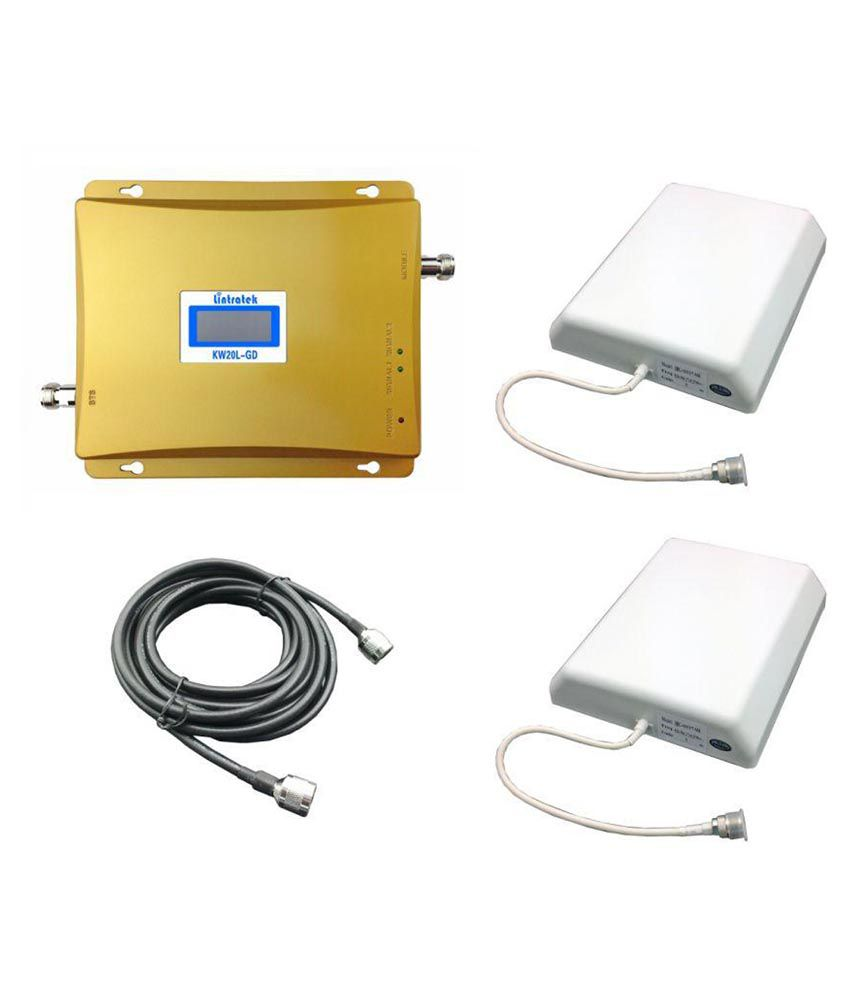 Lintratek KW20L-GD All Operator Cell Phone Signal Booster 3200 RJ11