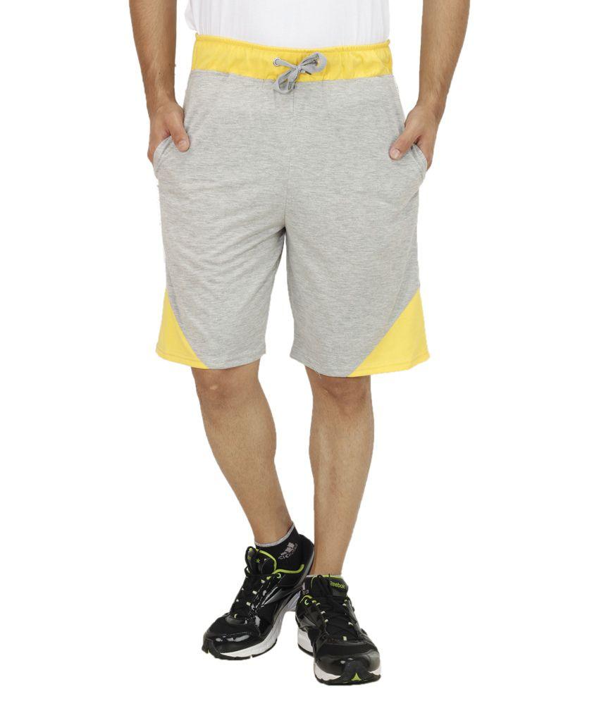 Christy World Grey Shorts
