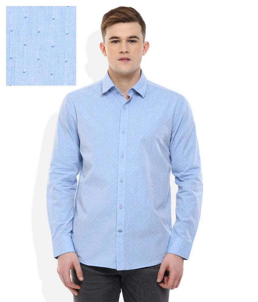 Proline Blue Regular Fit Shirt