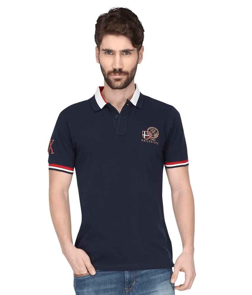 Proline Navy Polo T Shirts