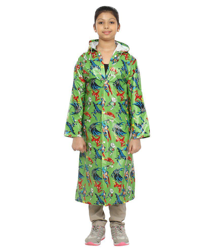 rainfun Printed Girl's Raincoat