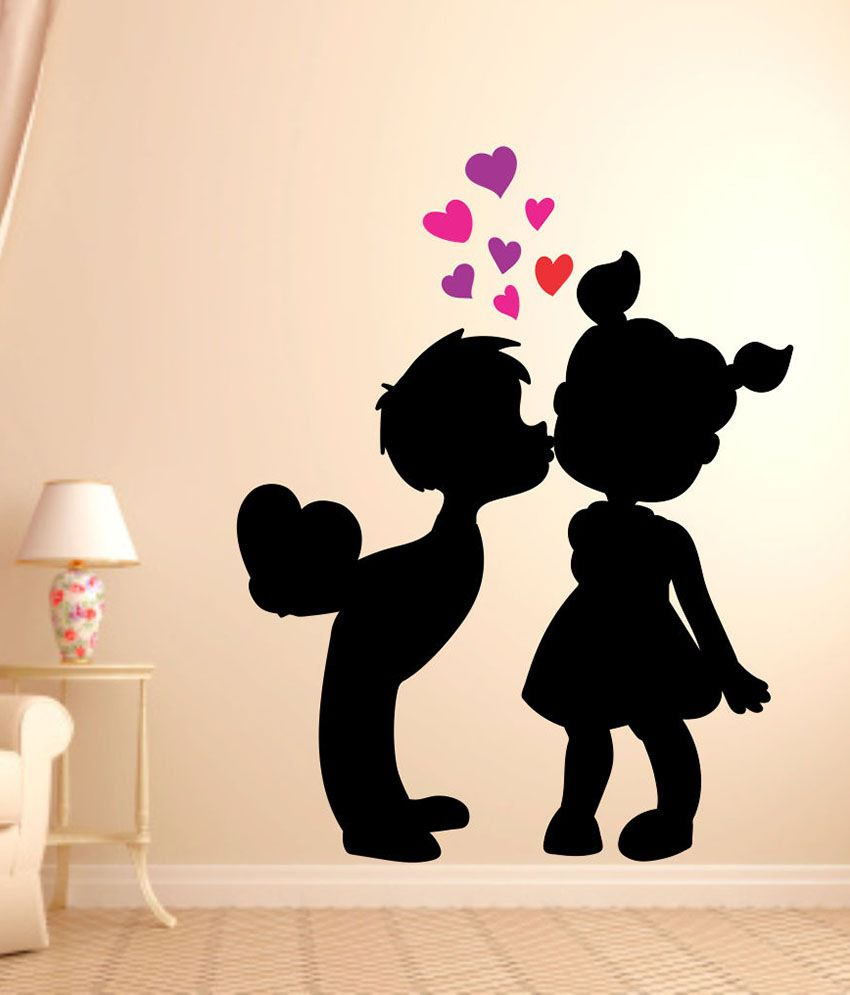 Impression Wall Cute Love Wall Sticker Buy Impression Wall Cute
