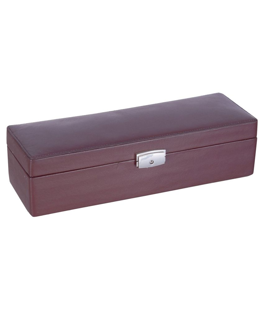 Leatherman Brown Jewellery Box