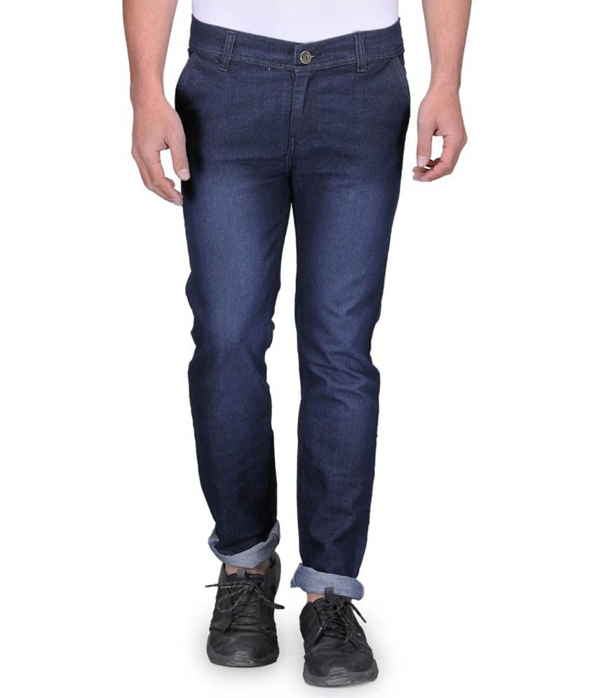 Urbano Fashion Blue Slim Fit Jeans