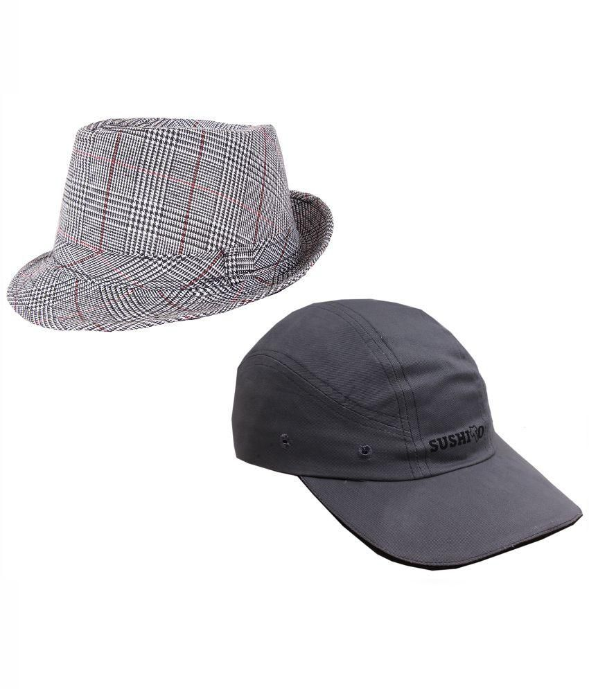 Sushito Grey Hat - Set of 2