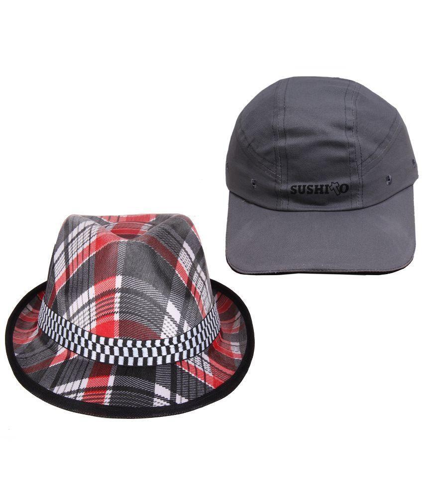 Sushito Multicolor Hat - Set of 2