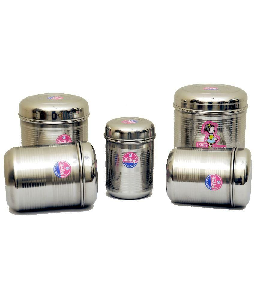 100 stainless steel kitchen canister set choosing the best dolly silver stainless steel kitchen storage steel container jar dolly silver stainless steel kitchen storage steel