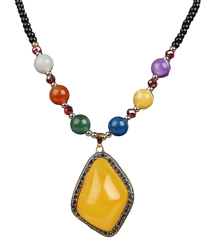 R18Jewels-Fashion& Multicolour Alloy Necklace