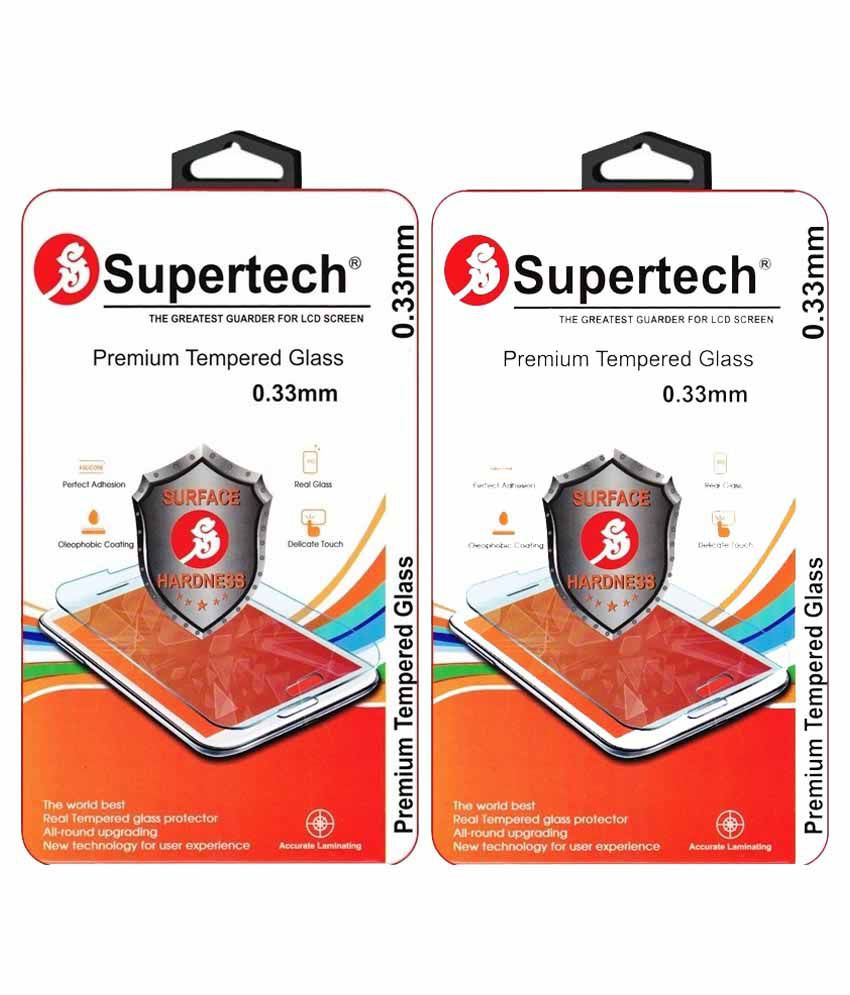 Micromax A106 Unite 2 Tempered Glass Screen Guard by SUPERTECH