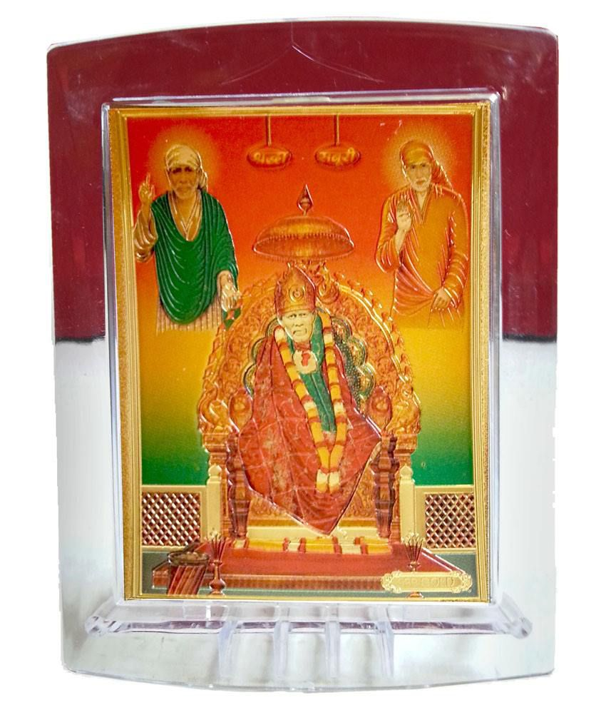 Gold Art 4 U Sai Baba Painting