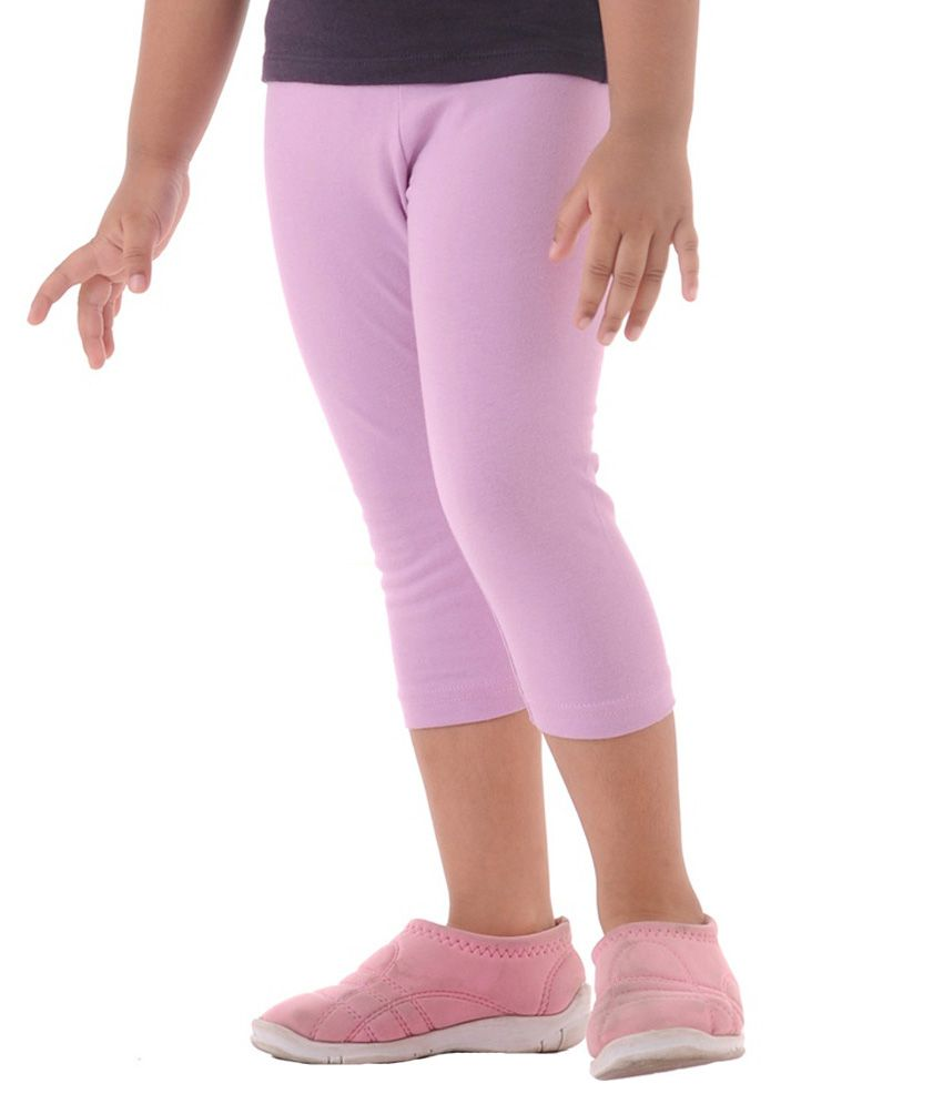 Metro Collections Pink Capris