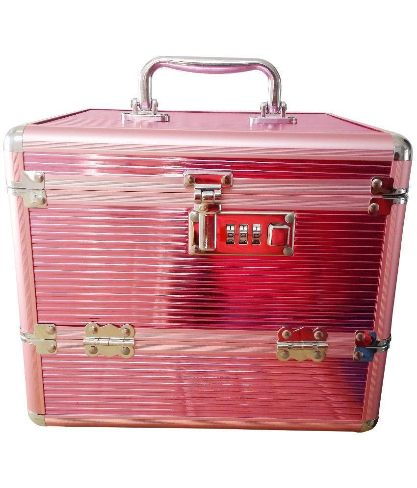 Pride Pink Aluminimum Cosmetic Box