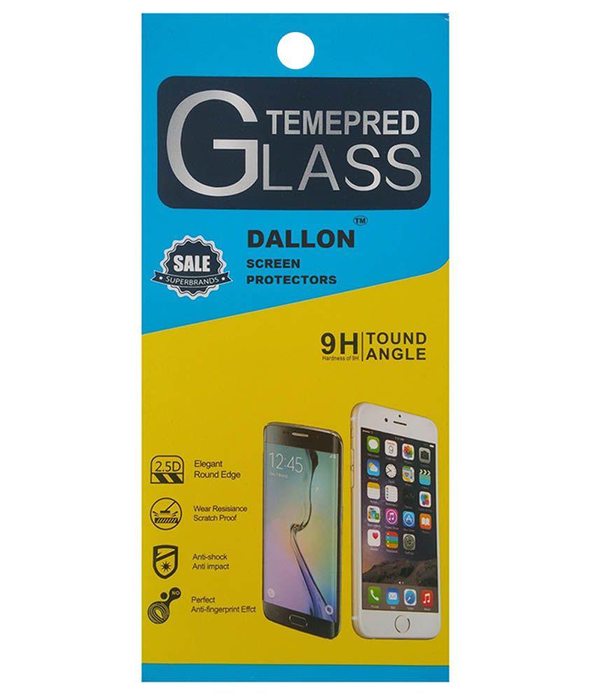 Moto E Tempered Glass Screen Guard by Dallon