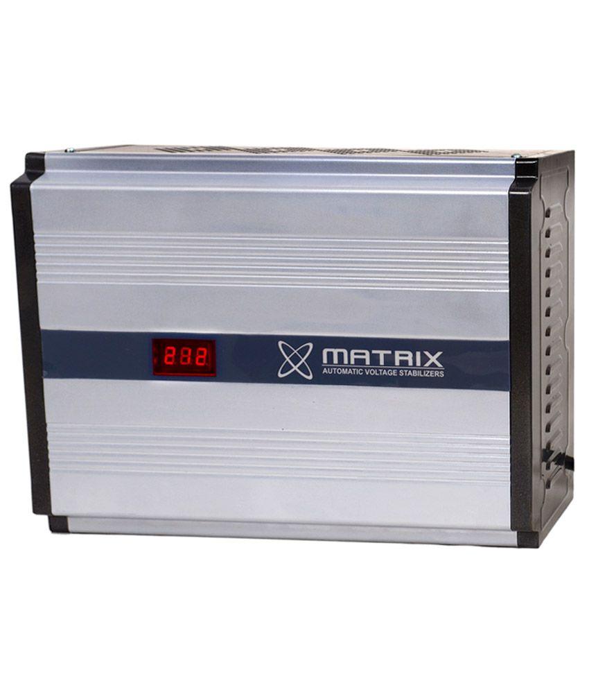 Matrix MX-0511C 0.5 KVA 110V LED Voltage Stabilizer