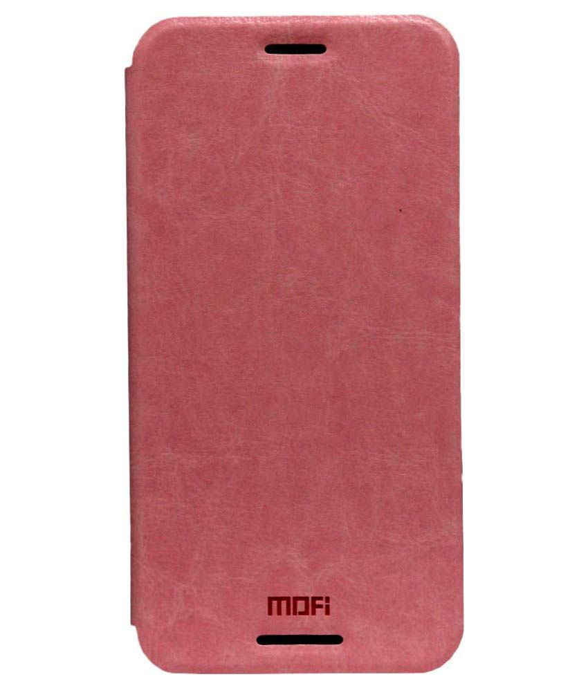 Mofi Flip Cover for HTC Desire 820 - Pink
