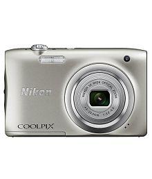 Nikon Coolpix A100 20.1MP Digital Camera - Silver