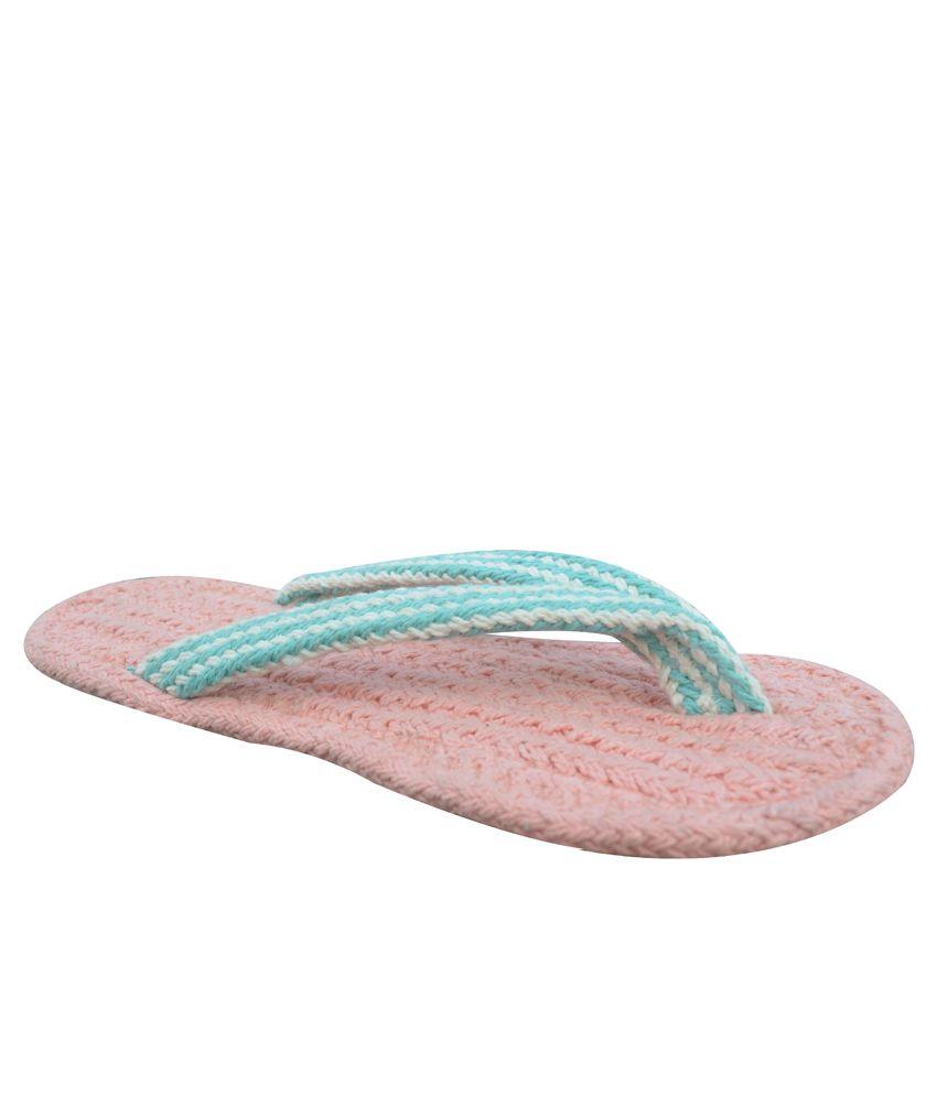 Homework Furnishings Pink Flip Flops Pack Of 3