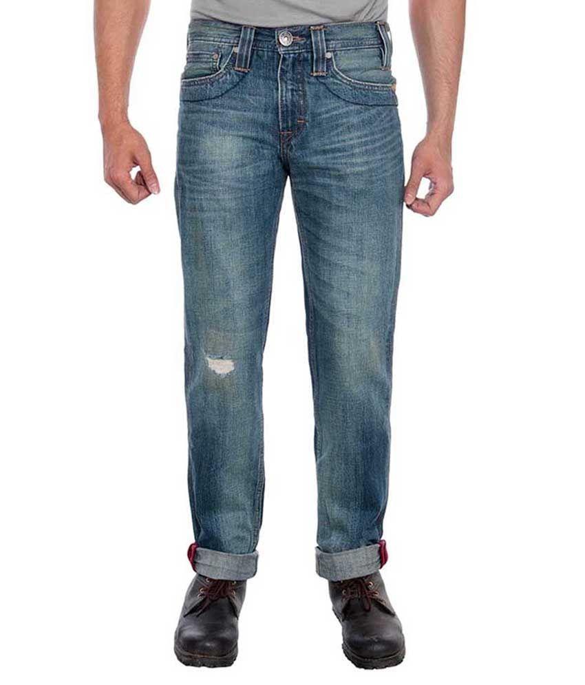 Levis Men Blue Jeans 511