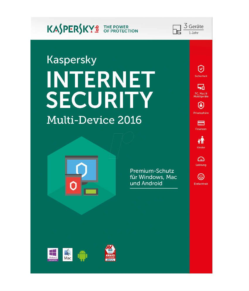 Kaspersky Internet Security Trial Version for 30 Days (Delivery Via Email)
