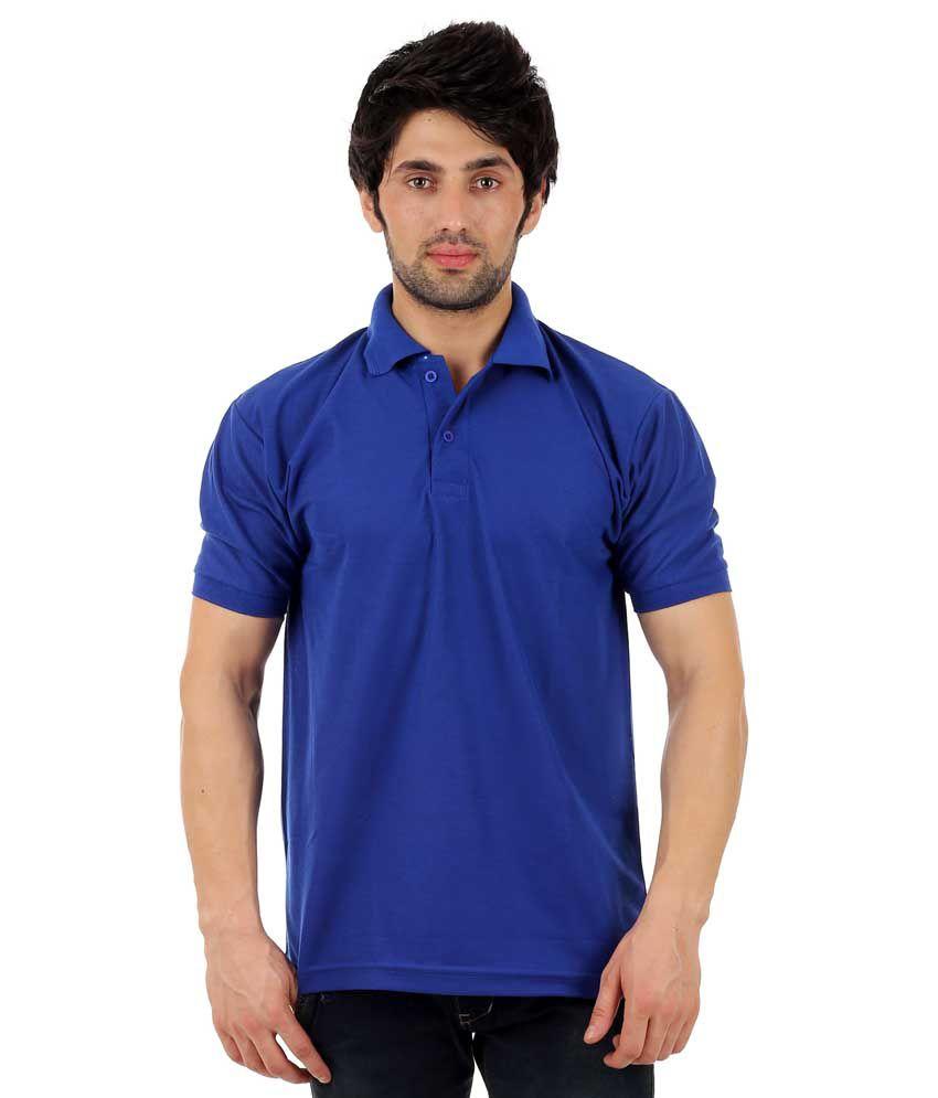 Finix Blue Polo T Shirts