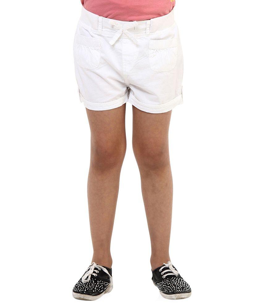 Oxolloxo White Shorts