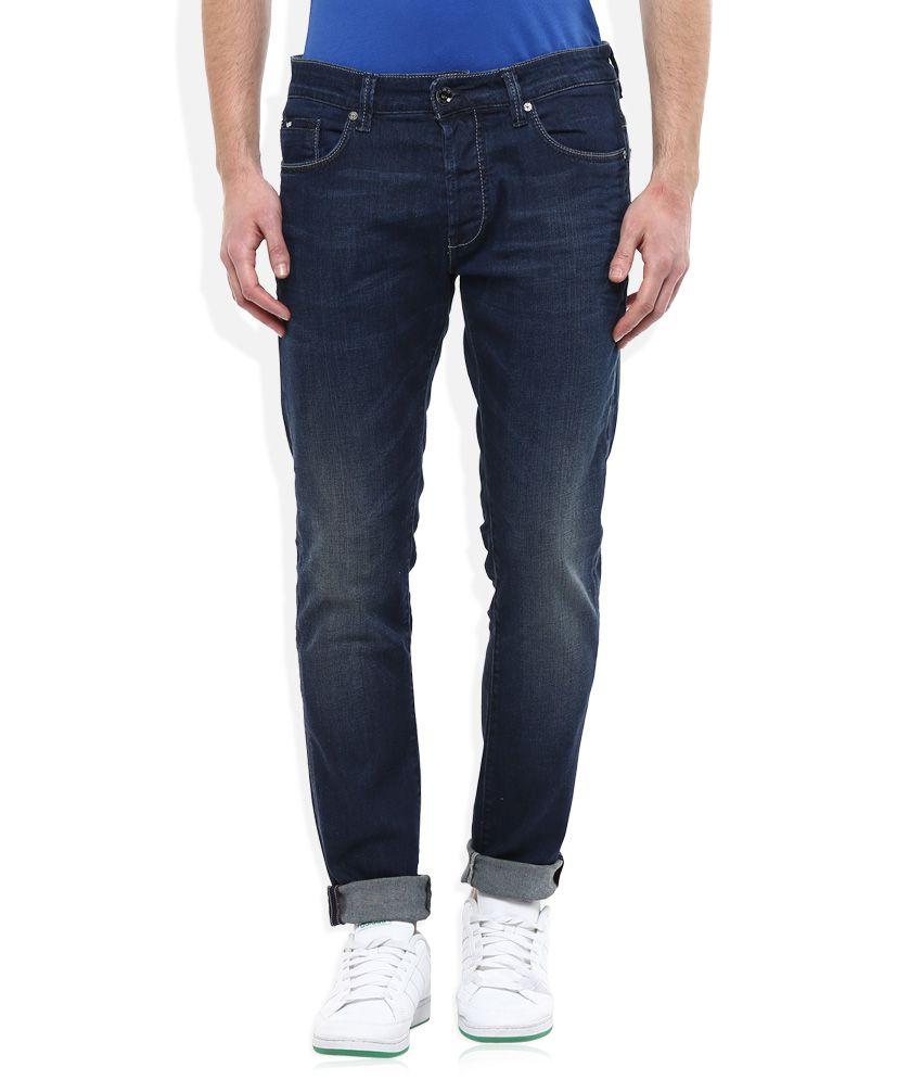 GAS Blue Norton Carrot Regular Fit Jeans