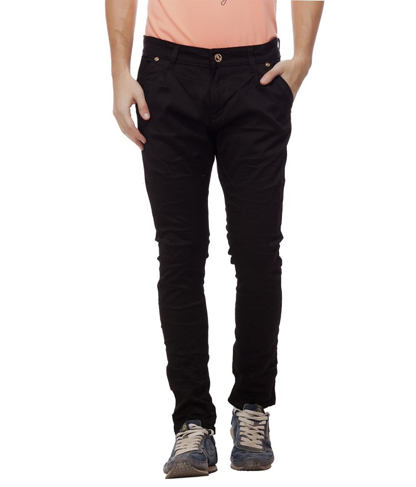 Jimmy And Jordan Black Slim Fit Basics Jeans
