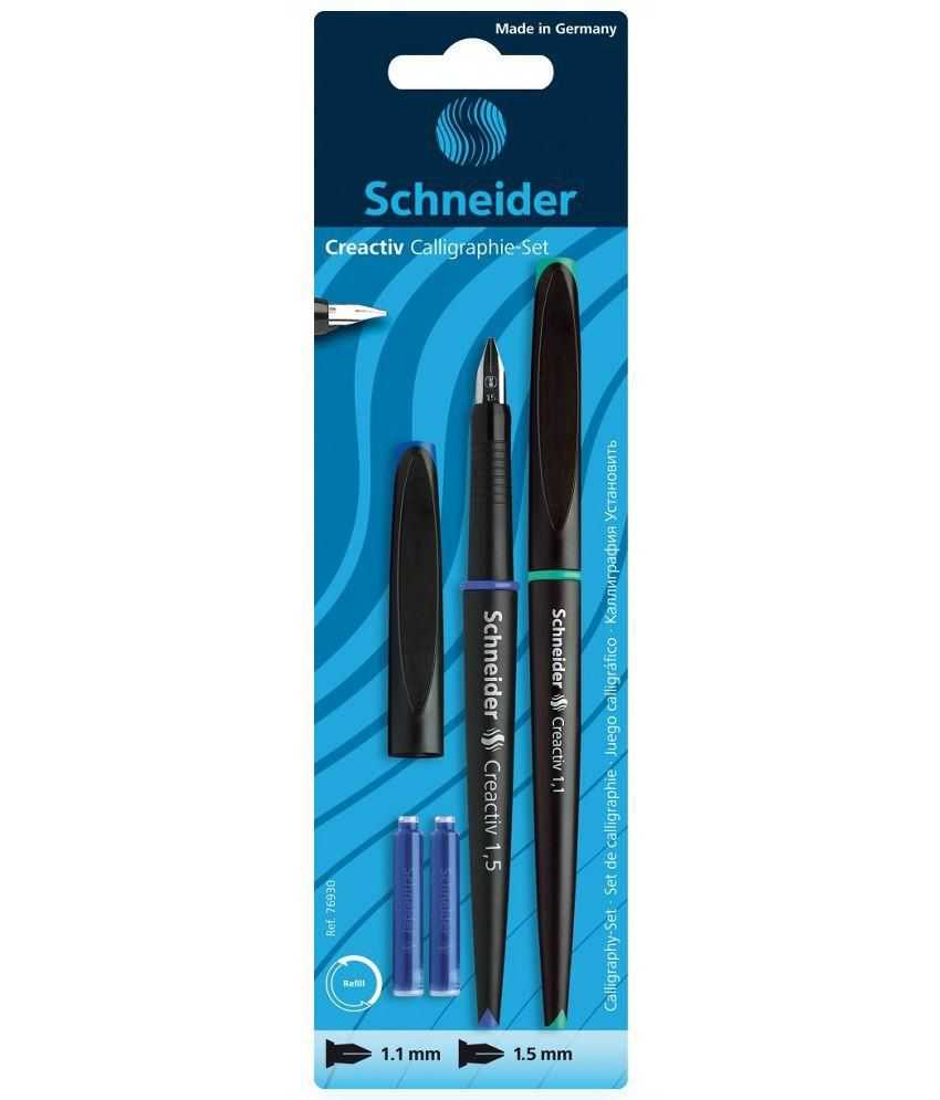 Schneider Black Calligraphy Pen Buy Online At Best Price In India