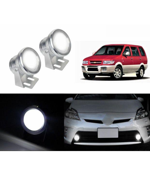 Speedwav Projector Led Fog Lights White Set Of 2 Chevrolet Tavera