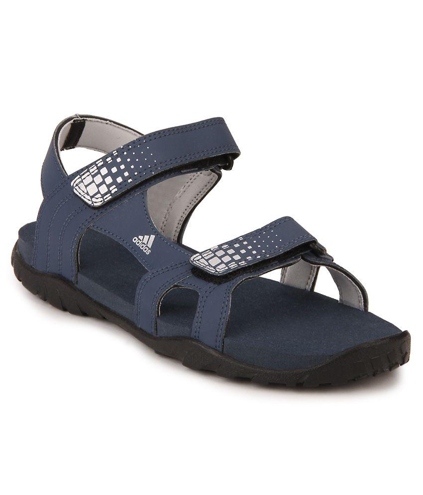 0a4dbaca24a Adidas Argo Blue Floater Sandals - Buy Adidas Argo Blue Floater Sandals  Online at Best Prices