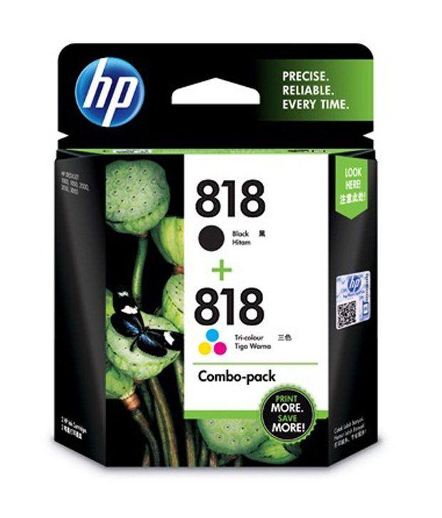 HP 818 Print Cartridge Combo Pack