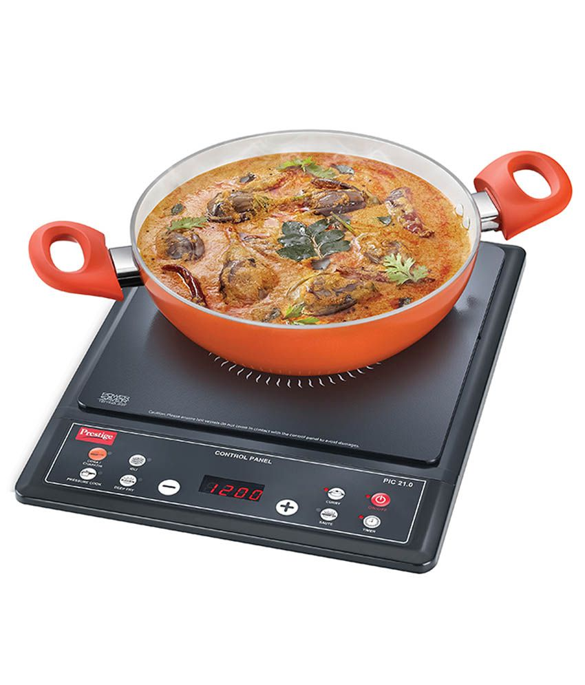 Prestige PIC-21 1200 W Induction Cooktop Price in India - Buy ...