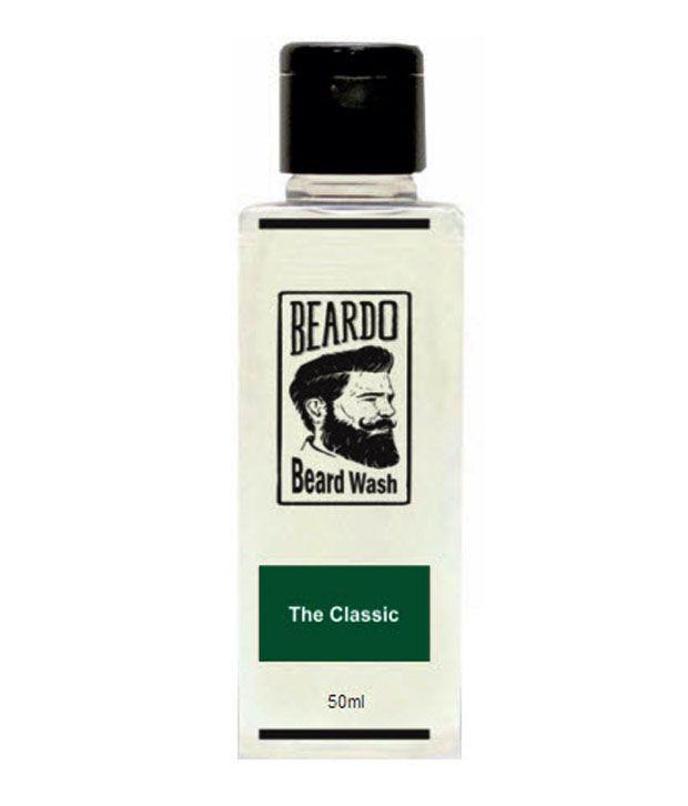 beardo the classic beard wash 50 ml buy beardo the classic beard wash 50 ml at best prices. Black Bedroom Furniture Sets. Home Design Ideas