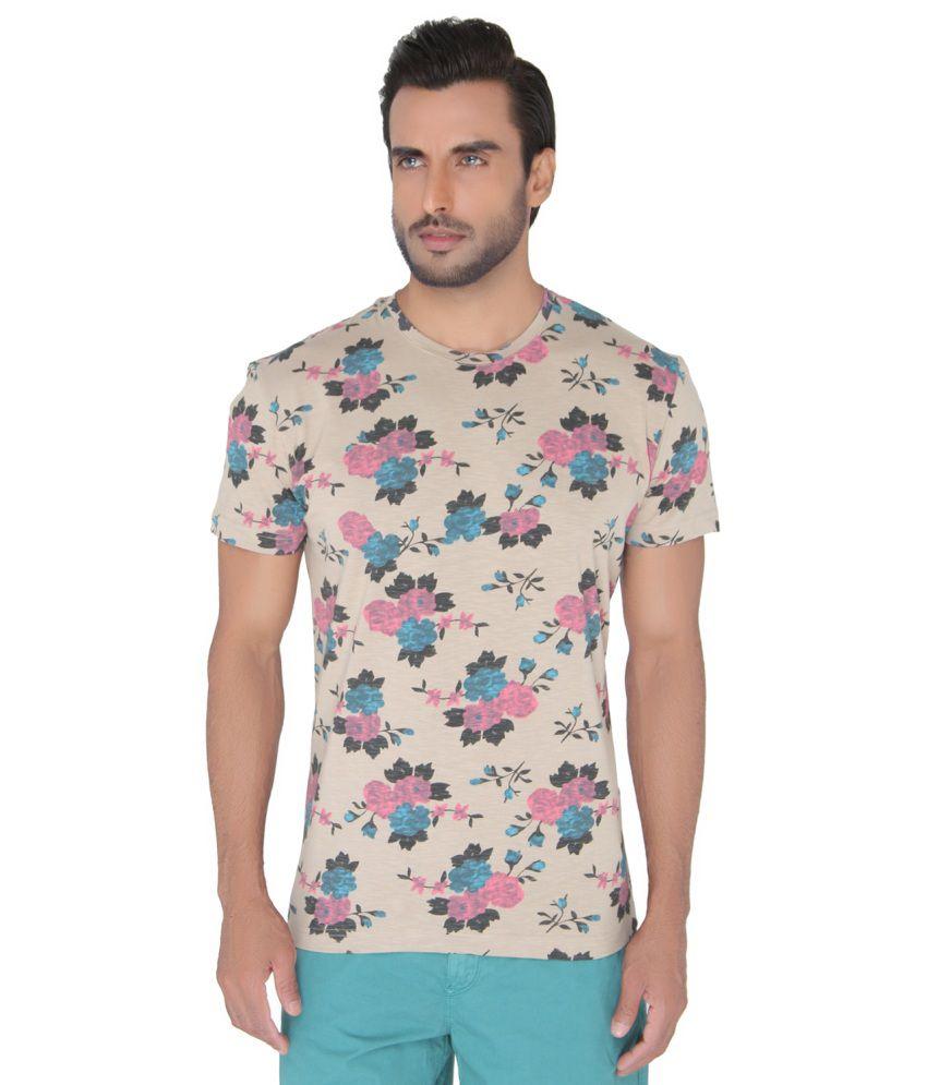 Jadeblue Multi Round T Shirts