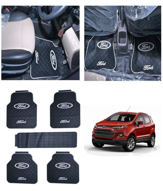 Takecare Black Car Floor Mat For Ford Ecosport 5 Piece Buy Takecare Black Car Floor Mat For Ford Ecosport 5 Piece Online At Low Price In India On Snapdeal
