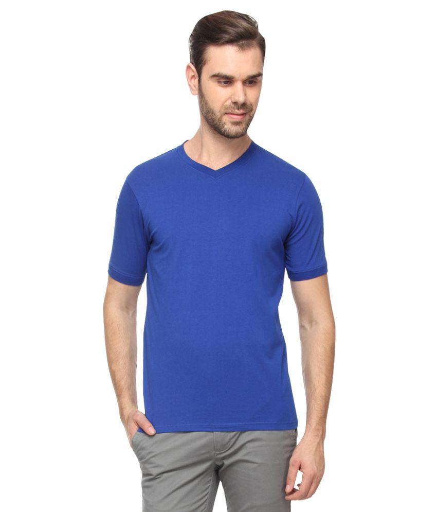 Proline Blue V-Neck T-Shirt
