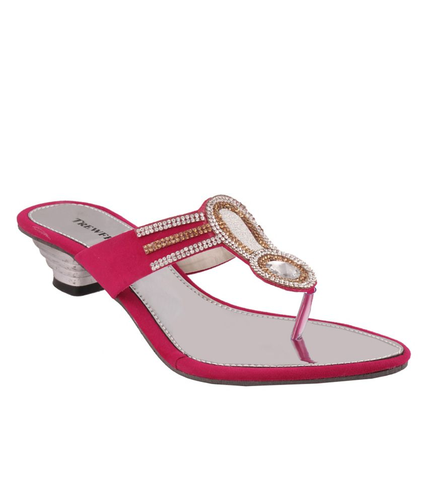 Trewfin Pink Heels