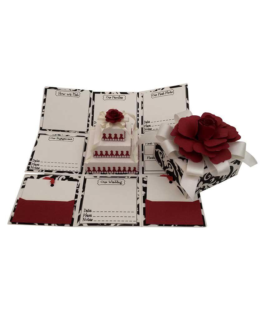 Crack Of Dawn Crafts Anniversary Handmade Explosion Gift Box: Buy