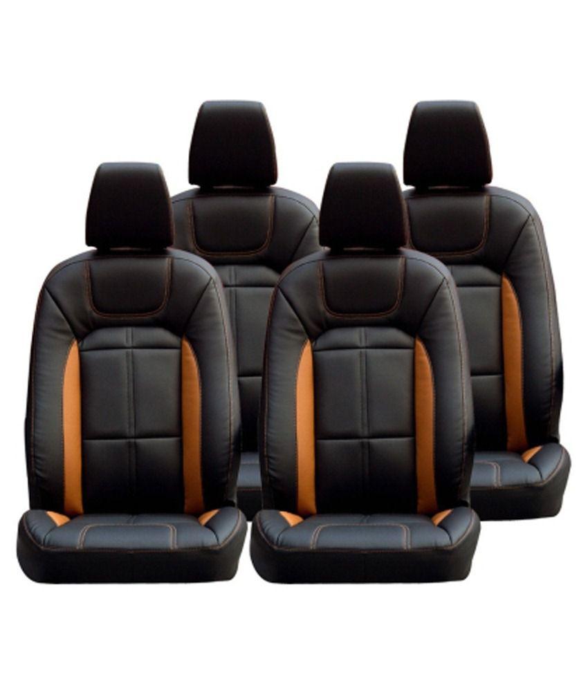 Musicar Car Seat Cover For Hyundai Elite I20 Black Set Of