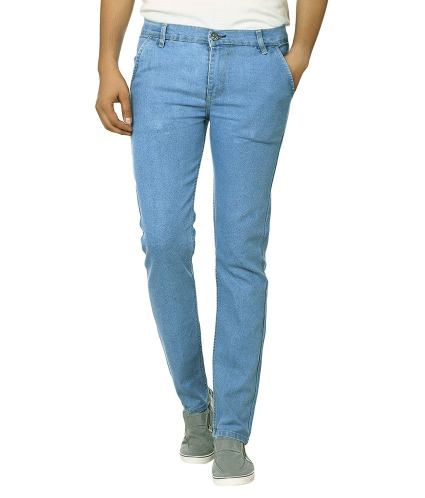 Ben Carter Blue Slim Fit Basics Jeans