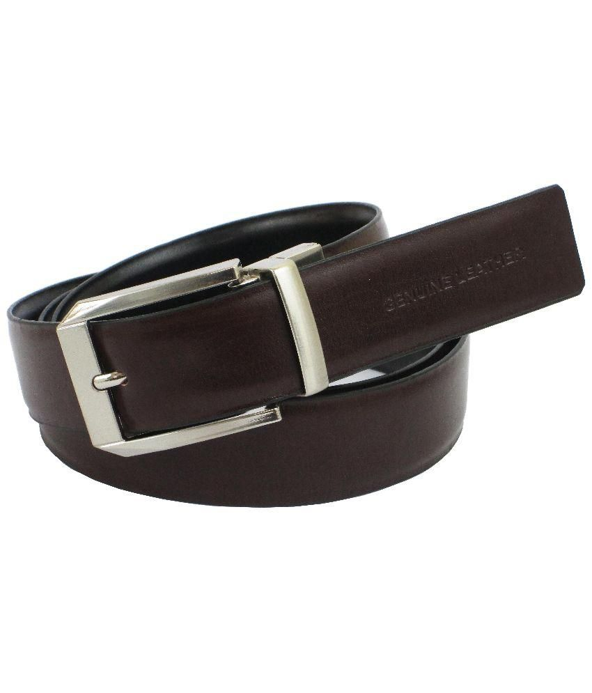 Abhinavs Reversible Black and Brown Belt