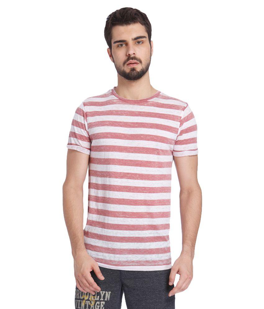 Jack & Jones Pink T-Shirt