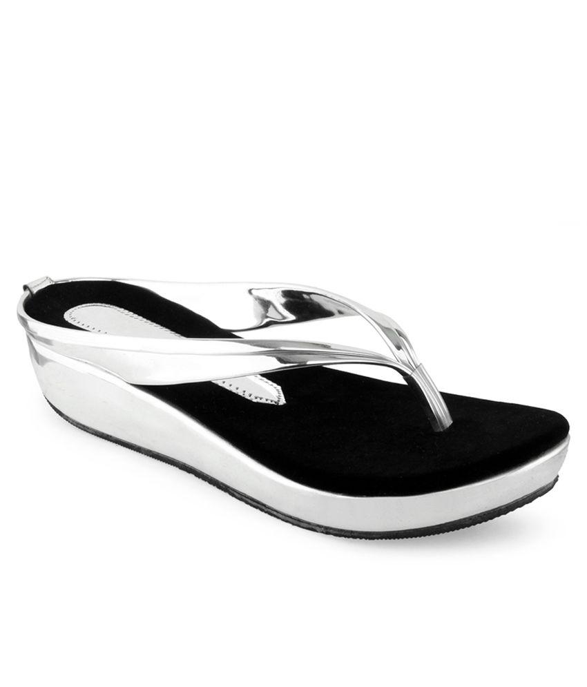 Shoe Lab Silver Heels