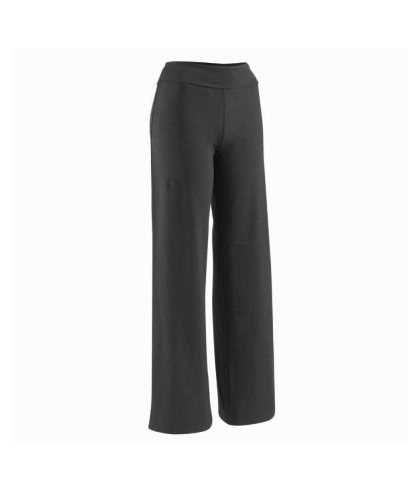 DOMYOS Org Basic Women's Yoga Trousers By Decathlon