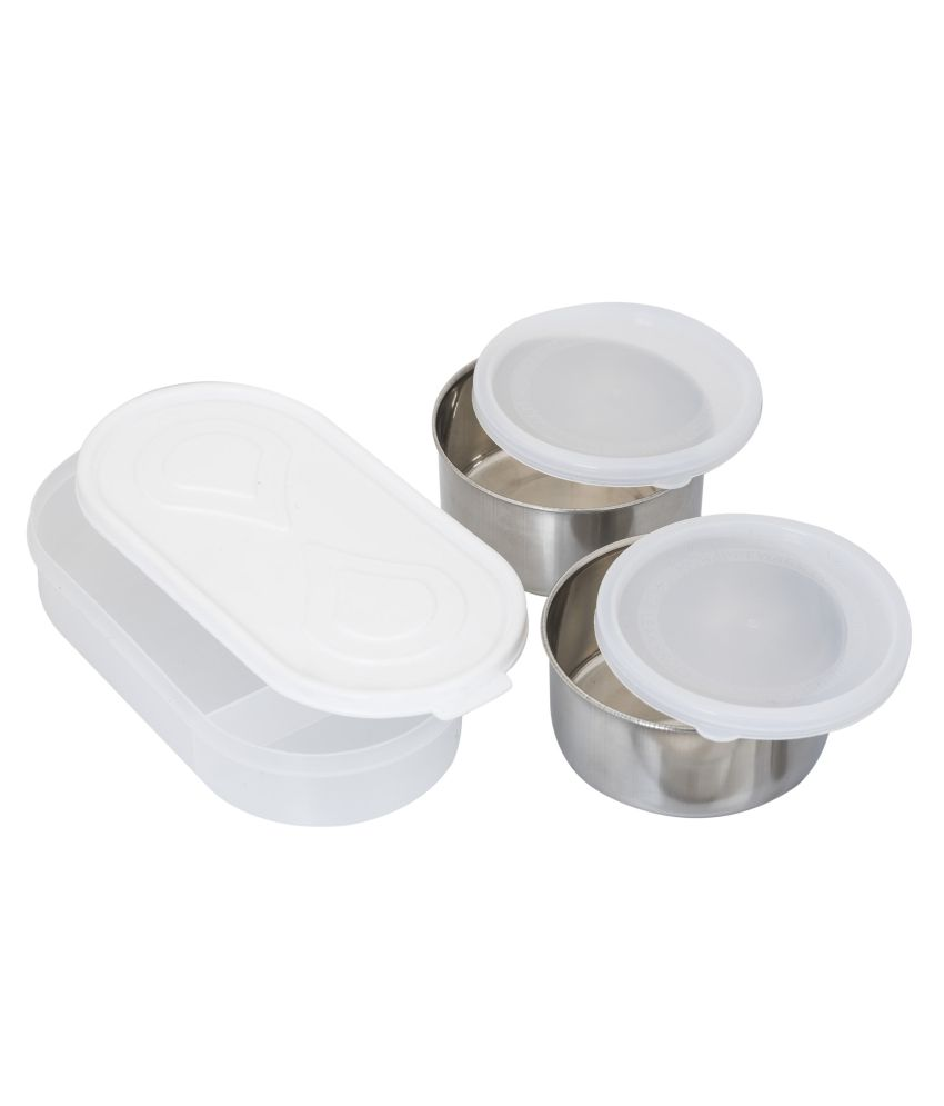 Maya Maroon Stainless Steel Lunch Box Buy Online At Best Price In